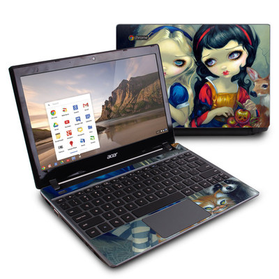 Acer Chromebook C7 Skin - Alice & Snow White