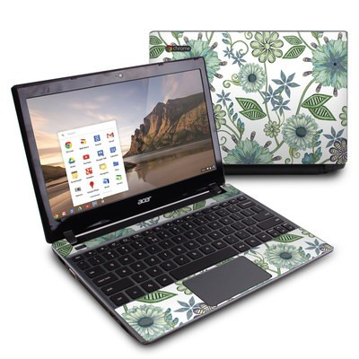 Acer Chromebook C7 Skin - Antique Nouveau