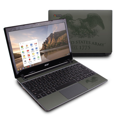 Acer Chromebook C7 Skin - Army Crest