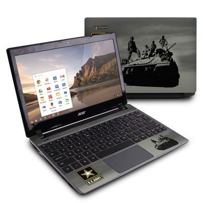 Acer Chromebook C7 Skin - Army Troop