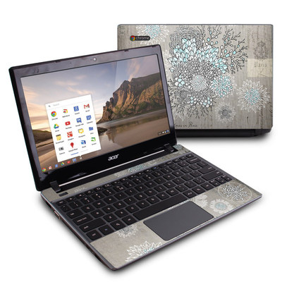 Acer Chromebook C7 Skin - Christmas In Paris
