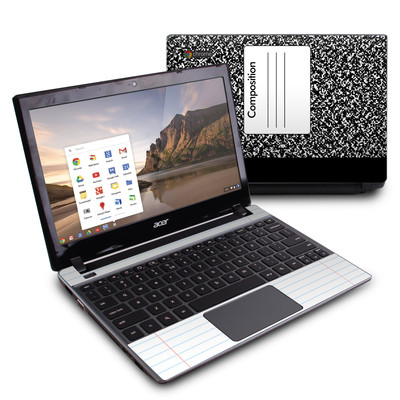 Acer Chromebook C7 Skin - Composition Notebook