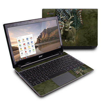 Acer Chromebook C7 Skin - Deer Flag