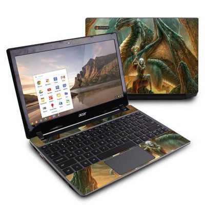 Acer Chromebook C7 Skin - Dragon Mage