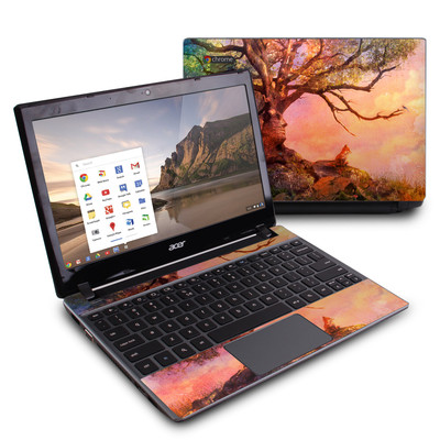 Acer Chromebook C7 Skin - Fox Sunset