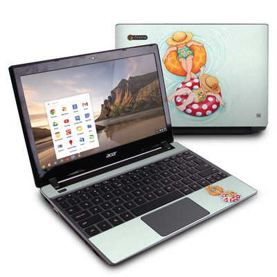 Acer Chromebook C7 Skin - Inner Tube Girls