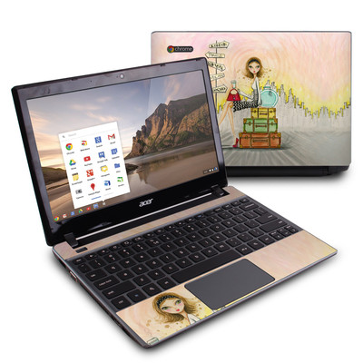 Acer Chromebook C7 Skin - The Jet Setter