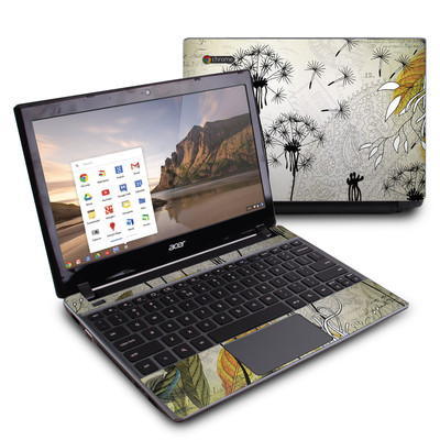 Acer Chromebook C7 Skin - Little Dandelion