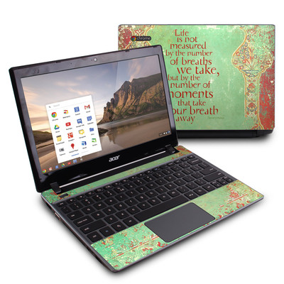 Acer Chromebook C7 Skin - Measured