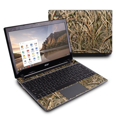 Acer Chromebook C7 Skin - Shadow Grass Blades