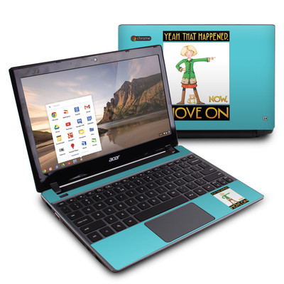 Acer Chromebook C7 Skin - Move On