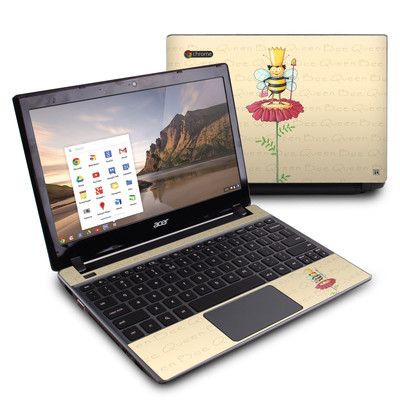 Acer Chromebook C7 Skin - Queen Bee