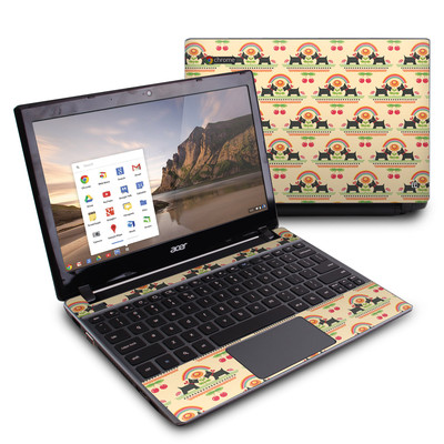 Acer Chromebook C7 Skin - Scotties