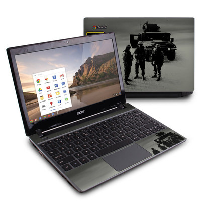 Acer Chromebook C7 Skin - Soldiers All