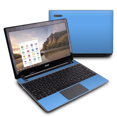 Acer Chromebook C7 Skin - Solid State Blue