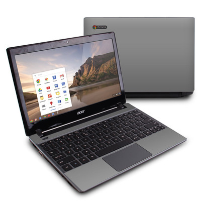 Acer Chromebook C7 Skin - Solid State Grey