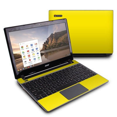 Acer Chromebook C7 Skin - Solid State Yellow
