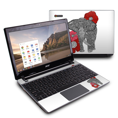 Acer Chromebook C7 Skin - The Elephant
