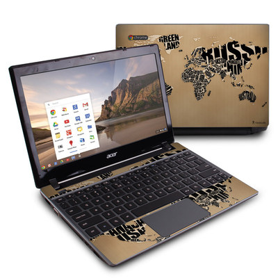 Acer Chromebook C7 Skin - Type Map