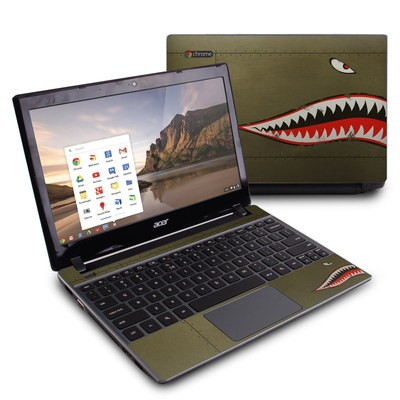 Acer Chromebook C7 Skin - USAF Shark