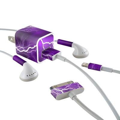 Apple iPhone Charge Kit Skin - Apocalypse Violet