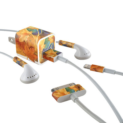 Apple iPhone Charge Kit Skin - Autumn Days