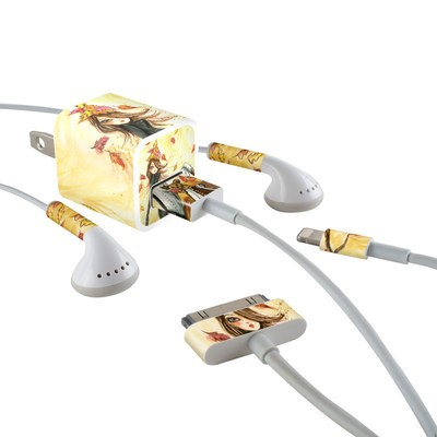 Apple iPhone Charge Kit Skin - Autumn Leaves