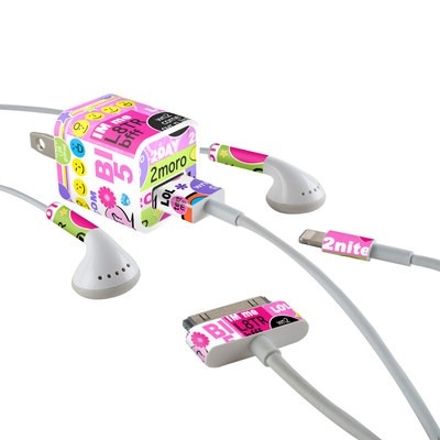 Apple iPhone Charge Kit Skin - BFF Girl Talk