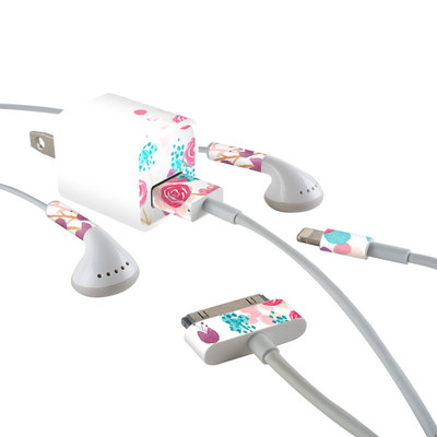 Apple iPhone Charge Kit Skin - Blush Blossoms
