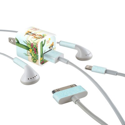 Apple iPhone Charge Kit Skin - Cactus