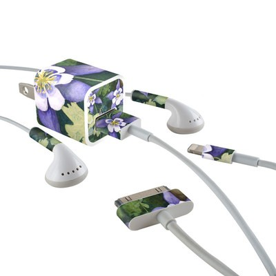 Apple iPhone Charge Kit Skin - Colorado Columbines