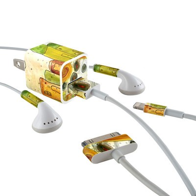 Apple iPhone Charge Kit Skin - City Life