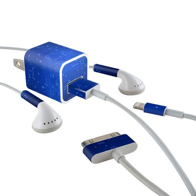 Apple iPhone Charge Kit Skin - Constellations