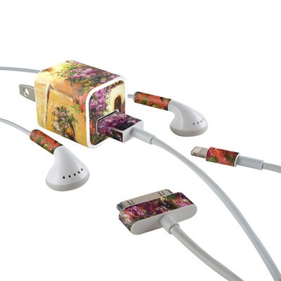 Apple iPhone Charge Kit Skin - Via Del Fiori