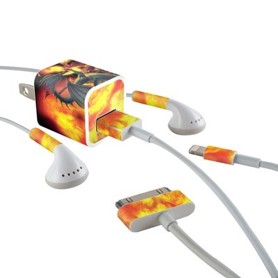 Apple iPhone Charge Kit Skin - Dragon Wars