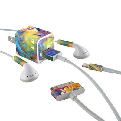 Apple iPhone Charge Kit Skin - Fascination