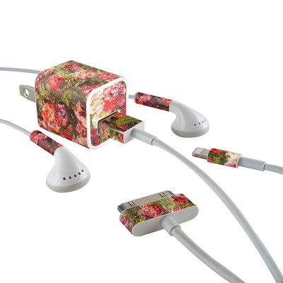 Apple iPhone Charge Kit Skin - Fleurs Sauvages