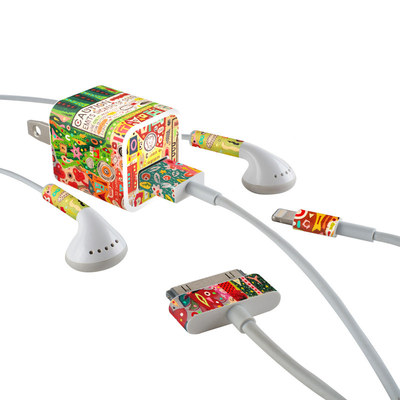 Apple iPhone Charge Kit Skin - Flotsam And Jetsam