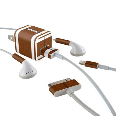Apple iPhone Charge Kit Skin - Football
