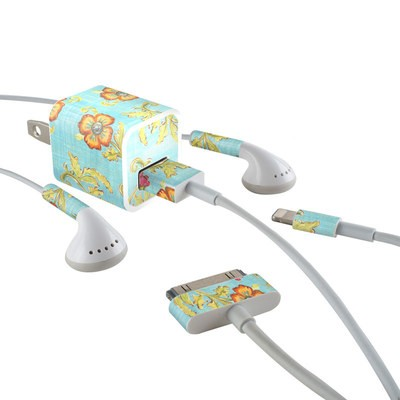 Apple iPhone Charge Kit Skin - Garden Jewel