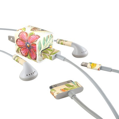Apple iPhone Charge Kit Skin - Garden Scroll