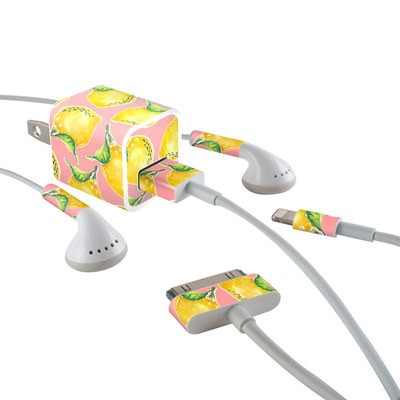 Apple iPhone Charge Kit Skin - Lemon