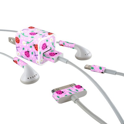 Apple iPhone Charge Kit Skin - Ladybug Land