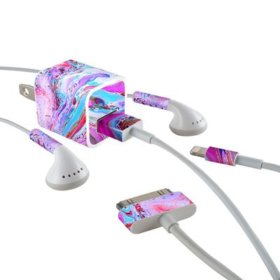 Apple iPhone Charge Kit Skin - Marbled Lustre