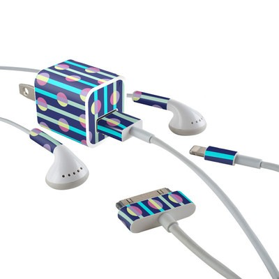 Apple iPhone Charge Kit Skin - Mod Stripe