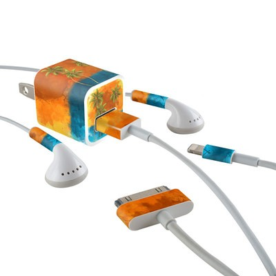 Apple iPhone Charge Kit Skin - Palm Trio