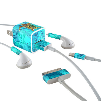 Apple iPhone Charge Kit Skin - Sacred Honu