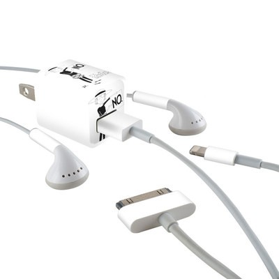 Apple iPhone Charge Kit Skin - Sentence
