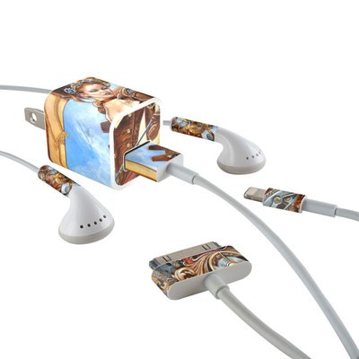 Apple iPhone Charge Kit Skin - Steam Jenny