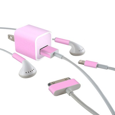 Apple iPhone Charge Kit Skin - Solid State Pink